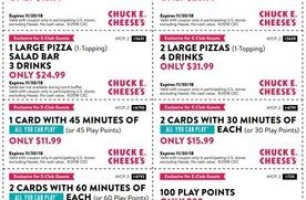 photograph about Chuck E Cheese Coupon Printable identified as 8 Chuck E. Cheeses Discount coupons San Jose Discount codes Every day Attracts