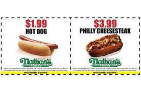 photograph regarding Nathans Hot Dog Printable Coupons titled 2 coupon codes for Nathans San Jose Discount coupons Everyday Attracts