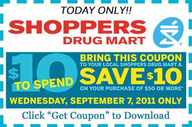 Shoppersdrugmart.ca Coupons & Promo Codes