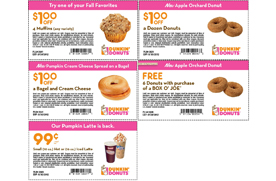 Expires Saturday 5 Coupons For Dunkin Donuts