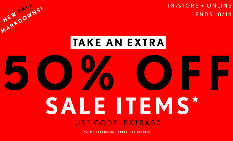 photo regarding Forever 21 Printable Application titled 50% off sale goods at Eternally 21 (inside of-shop and on the net