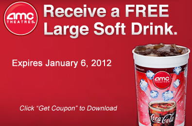 image about Amc Printable Coupons named Printable Coupon: Acquire a Free of charge Hefty Smooth Consume at AMC