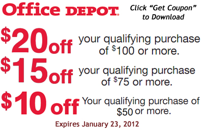 Office depot coupon codes promo codes save on january html autos weblog - Office depot discount code ...