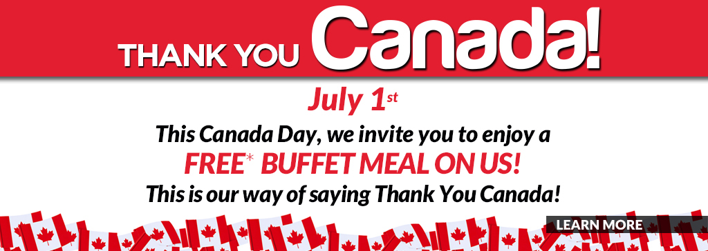 photograph regarding Royal Buffet Printable Coupons named CANADA Working day Just! Just take a Absolutely free buffet evening meal at Mandarin San