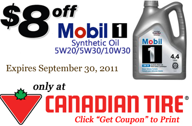 picture about Mobil 1 Oil Change Coupons Printable named Printable Coupon: Preserve $8 upon Mobil 1 Artificial Oil at