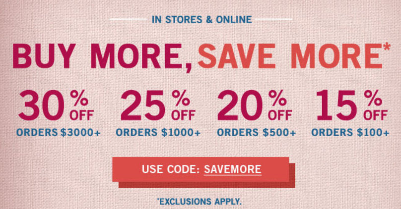 picture about Pottery Barn Coupon Printable named Get Further more Help you save Further inside of-retail outlet and on the web at Pottery Barn San