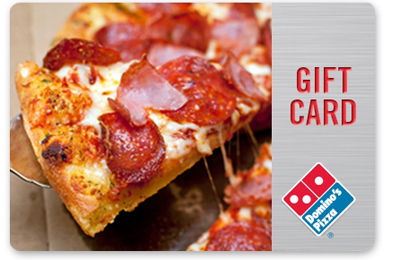Win dominos gift card