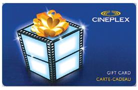 Carte Cadeau Cineplex.Win A 50 Cineplex Gift Card San Jose Draws Daily Draws